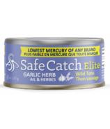 Safe Catch Elite Wild Tuna Garlic Herb