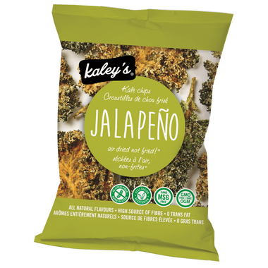 Kaley\'s Kale Chips Jalapeno Flavour