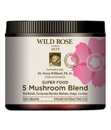 Wild Rose 5 Mushroom Blend Super Food