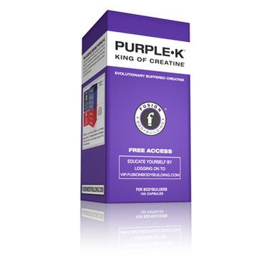 Fusion Bodybuilding Purple-K Buffered Creatine