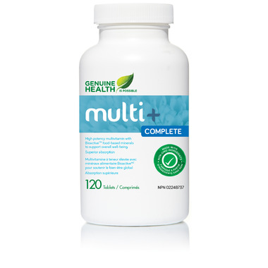 Genuine Health Multi+ Complete