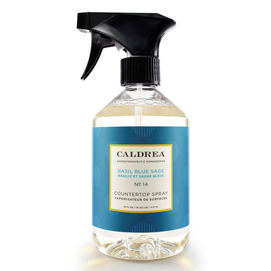 Caldrea Countertop Spray Basil Blue Sage