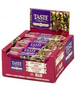 Taste of Nature Organic Protein Bars Dark Chocolate & Cherry