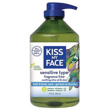 Buy Kiss My Face Sensitive Type Fragrance Free Bath Amp Body