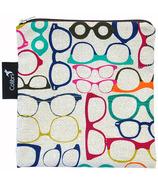 Colibri Reusable Snack Bag in Glasses Pattern