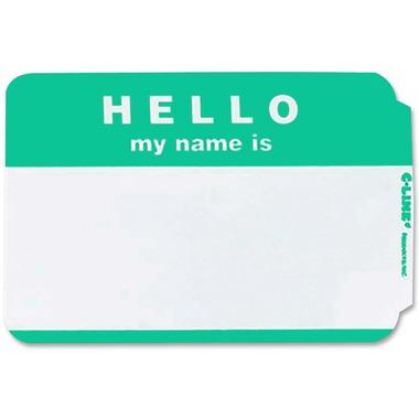 C-Line Self-Adhesive Name Badges