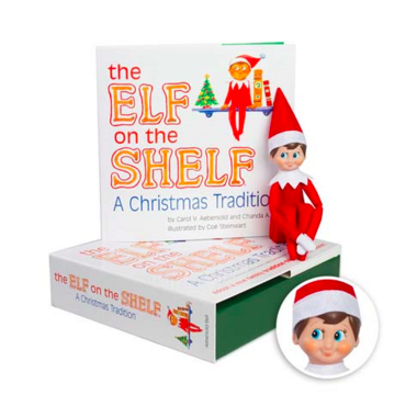 Elf on the Shelf A Christmas Tradtition Boy Scout