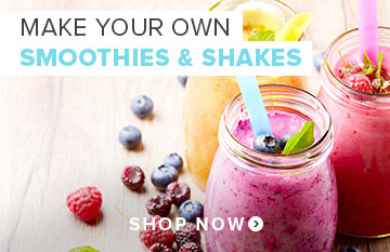 Make your own Smoothies and Shakes