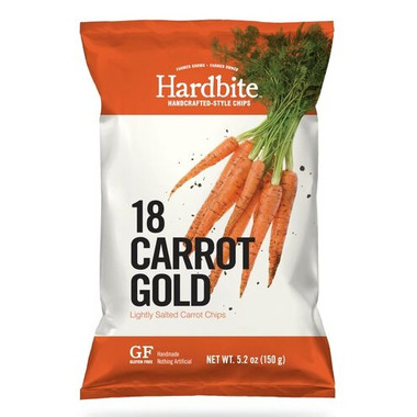 Hardbite Handcrafted Lightly Salted Carrot Chips