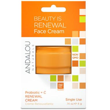 ANDALOU naturals Probiotic + C Renewal Cream Pod
