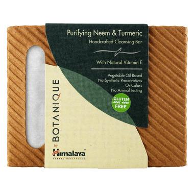Botanique by Himalaya Purifying Neem & Turmeric Cleansing Bar