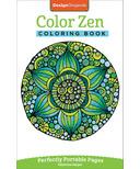 Fox Chapel Color Zen Coloring Book