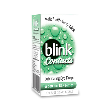 Blink Contacts Lubricating Eye Drops
