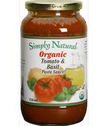 Simply Natural Organic Tomato & Basil Pasta Sauce