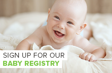 Sign up for our Baby Registry
