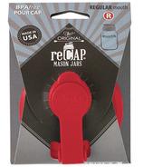 reCAP Mason Jars Pour Cap Regular Mouth in Red