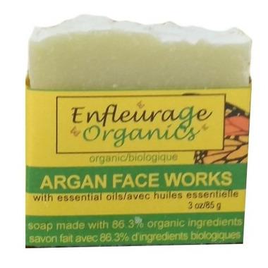 Enfleurage Organics Bar Soap Argan Face Works