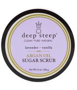 Deep Steep Argan Oil Sugar Scrub