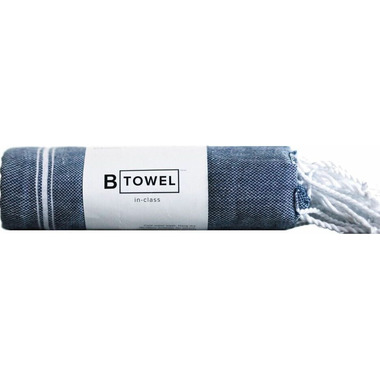 B Yoga B TOWEL Hands & Face Navy
