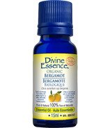 Divine Essence Bergamot Organic Essential Oil
