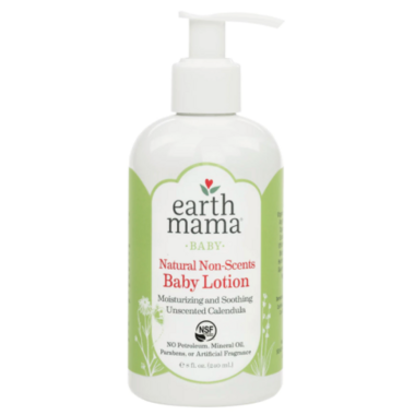 Earth Mama Organics Baby Natural Non-Scents Lotion
