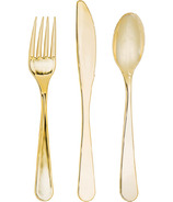 Elise Assorted Cutlery Gold