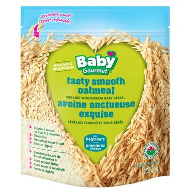 Baby Gourmet Organic Tasty Smooth Oatmeal