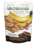 Oh! Naturals Banana Chips Chocolate Flavour