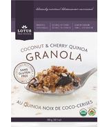 Lotus Fine Foods Coconut & Cherry Quinoa Granola