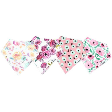 Copper Pearl Bloom Bandana Bibs