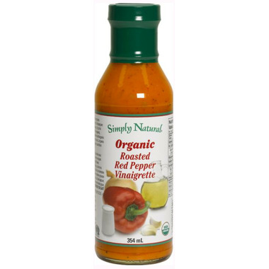 Simply Natural Organic Roasted Red Pepper Vinaigrette