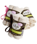 Lulujo Baby Organic Cotton Facecloths Cream