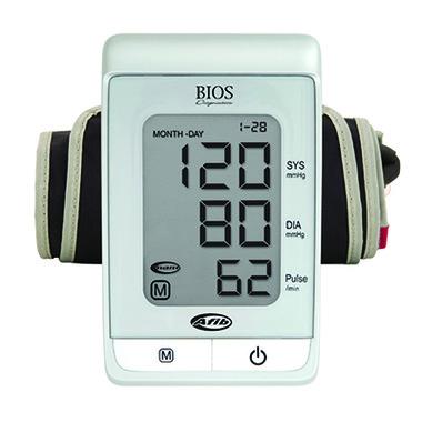 Bios Premium Blood Pressure Monitor with Advanced Diagnostics