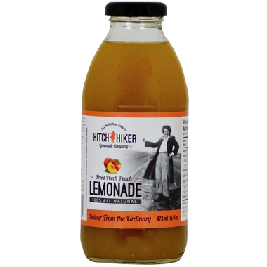 Hitchhiker Beverage Company Front Porch Peach Lemonade