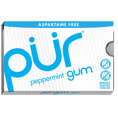 PUR Sugar-Free Gum Peppermint