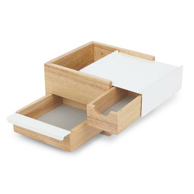 Umbra Mini Stowit Jewelry Box Natural