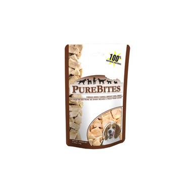 PureBites Freeze Dried Turkey Breast Dog Treats