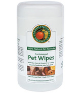 Earth Friendly Products Pre-Moistened Pet Wipes