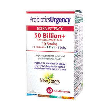 New Roots Herbal Probiotics Urgency 50 Billion