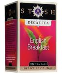 Stash English Breakfast Decaf Tea