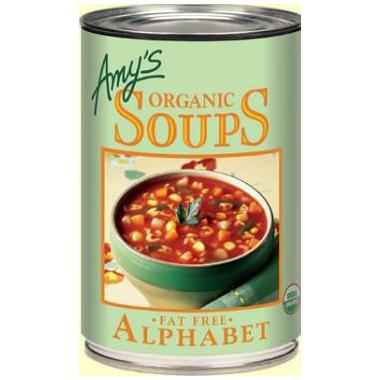 Amy\'s Organic Alphabet Soup