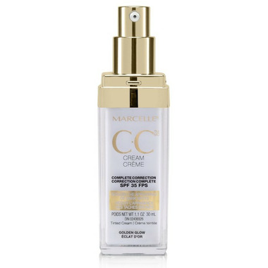 Marcelle CC Cream SPF 35 Complete Correction Golden Glow