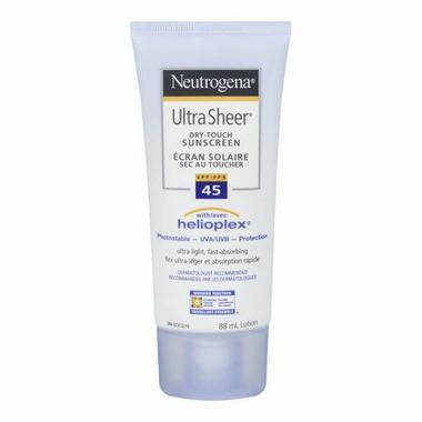 Neutrogena Ultra Sheer Dry-Touch Sunscreen Lotion