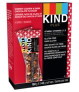 KIND Dark Chocolate Cherry Cashew + Vitamins A, C, E Bars