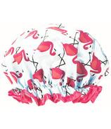 Studio Dry Shower Cap Flamingos