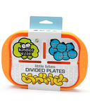 Kinderville Little Bites Divided Plate Orange