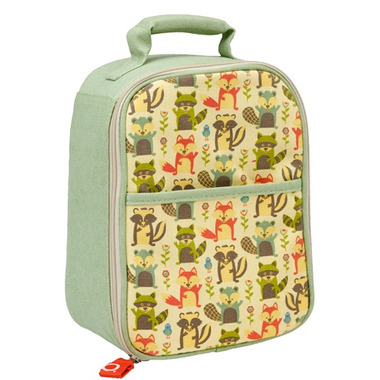 Sugarbooger Zippee Lunch Tote What did the Fox Eat
