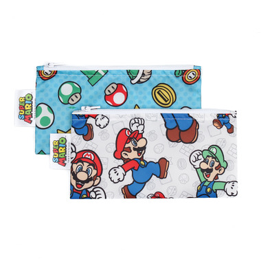 Bumkins Nintendo Small Snack Bag Super Mario