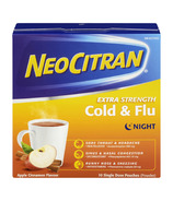 NeoCitran Extra Strength Cold & Flu Night Apple Cinnamon Flavour