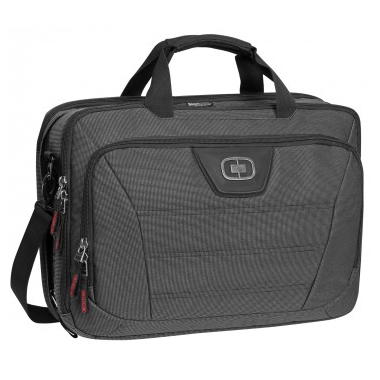 OGIO Top Zip Laptop Bag in Black Pindot